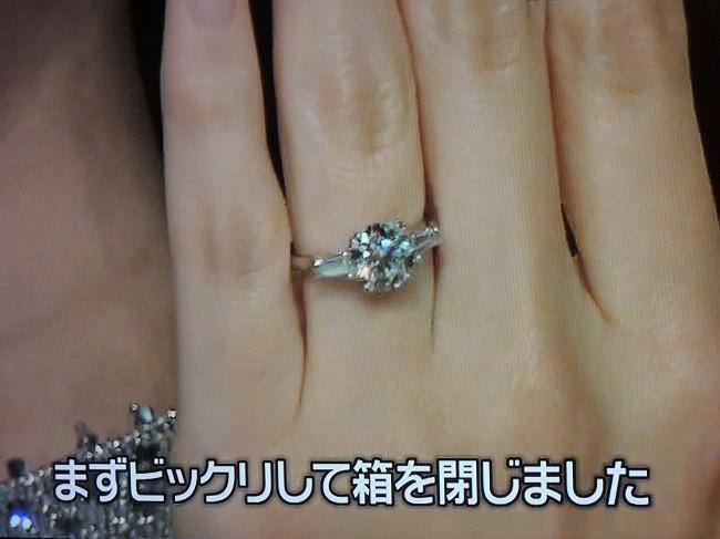 DAIGOさん×北川景子さん婚約指輪