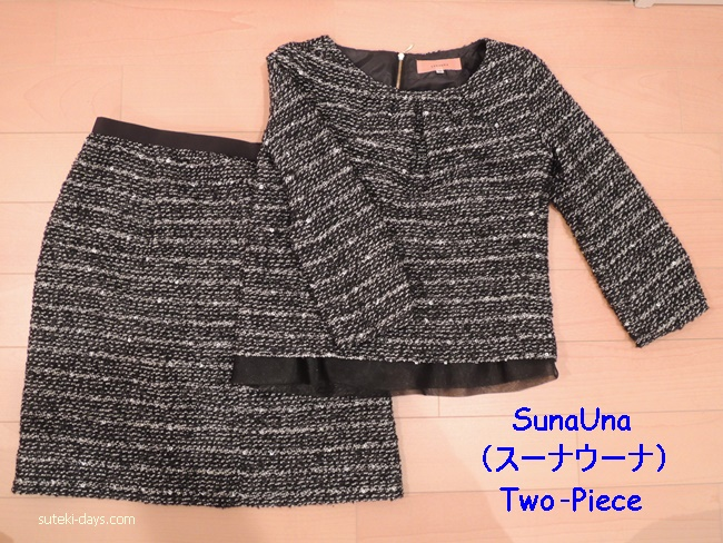SunaUnaのtwo‐piece