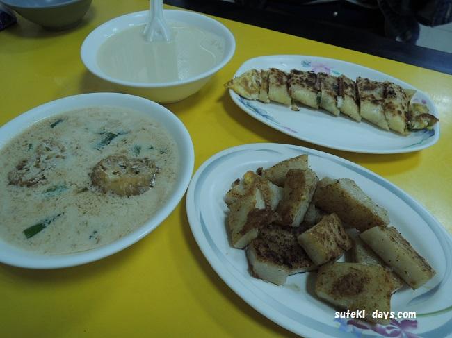 世界豆浆大王 朝食