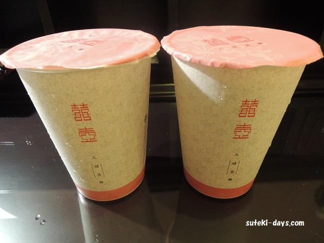 囍壺 人間茶館_珍珠奶茶(タピオカミルクティー)
